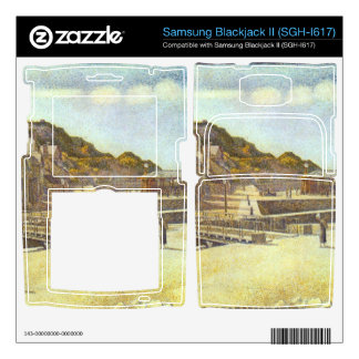 Bridge and Port of Port-en-Bessin by Seurat Samsung Blackjack II Skin