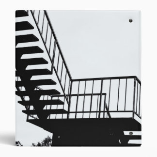 Bridge and stairs 3 ring binder