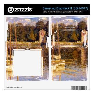 Bridge at Argenteuil by Claude Monet Samsung Blackjack II Skin
