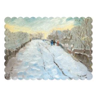 Bridge at Argenteuil Card