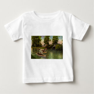 Bridge at Belle Isle, Detroit, Michigan Vintage Baby T-Shirt