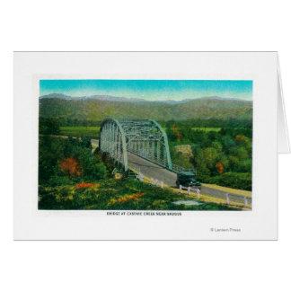 Bridge at Castaic Creek Near Saugus Card