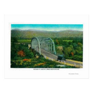Bridge at Castaic Creek Near Saugus Postcard