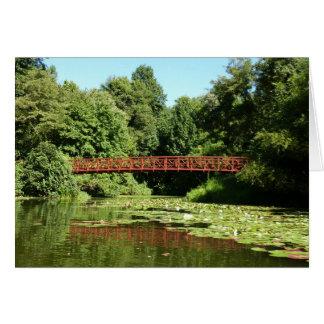 Bridge at Centennial Lake Ellicott City Maryland Card