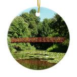 Bridge at Centennial Lake Ellicott City Maryland Ceramic Ornament