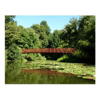 Bridge at Centennial Lake Ellicott City Maryland Postcard