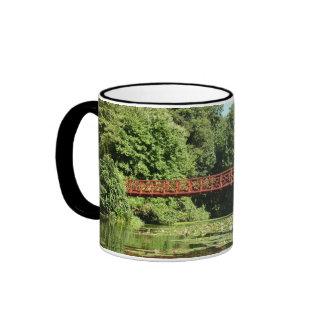 Bridge at Centennial Lake Ellicott City Maryland Ringer Mug
