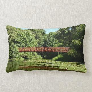Bridge at Centennial Lake Ellicott City Maryland Throw Pillow