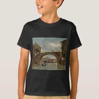 Bridge at Dolo by Francesco Guardi T-Shirt