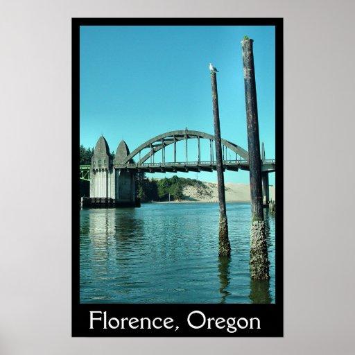 Bridge at Florence Poster