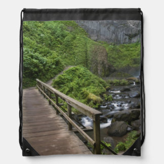 Bridge at Latourell Falls, Columbia River Gorge, Backpacks