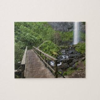 Bridge at Latourell Falls, Columbia River Gorge, Jigsaw Puzzle