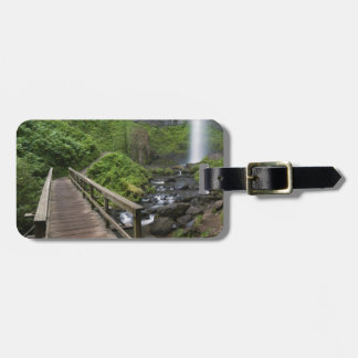Bridge at Latourell Falls, Columbia River Gorge, Tag For Bags