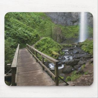Bridge at Latourell Falls, Columbia River Gorge, Mouse Pad