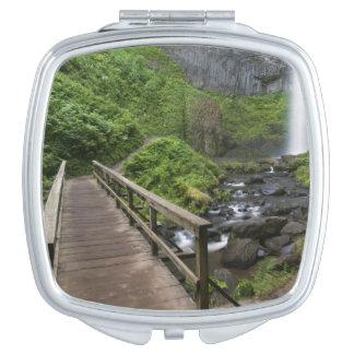 Bridge at Latourell Falls, Columbia River Gorge, Vanity Mirror