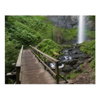 Bridge at Latourell Falls, Columbia River Gorge, Postcard