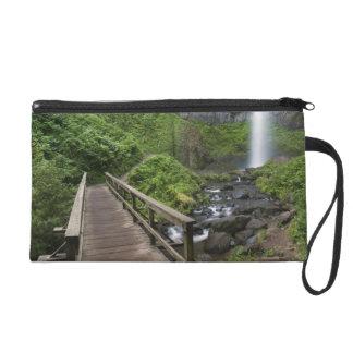 Bridge at Latourell Falls, Columbia River Gorge, Wristlet Purse