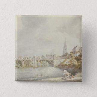 Bridge at Monmouth Pinback Button