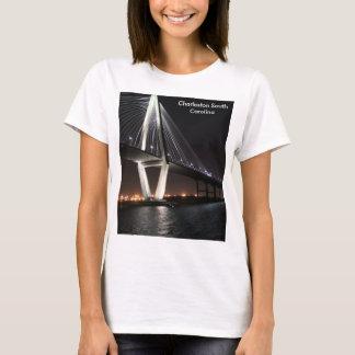 Bridge at night, Charleston SC, photography T-Shirt