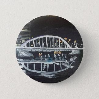 bridge at night pinback button