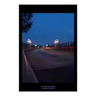 Bridge at Night Print