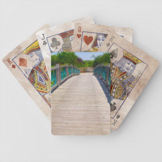Bridge at Powell Gardens Kansas City Bicycle Playing Cards