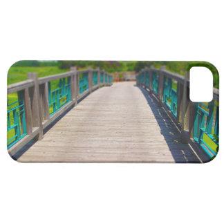 Bridge at Powell Gardens Kansas City iPhone SE/5/5s Case