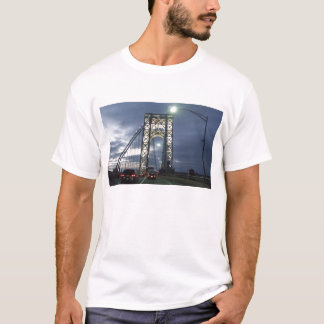 Bridge at Sunset in New York T-Shirt