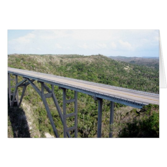 bridge bacunayagua card