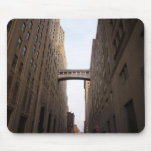 Bridge Between Two Skyscrapers, New York City Mouse Pads