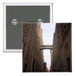 Bridge Between Two Skyscrapers, New York City Pins
