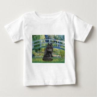 Bridge -Black Persian cat Baby T-Shirt