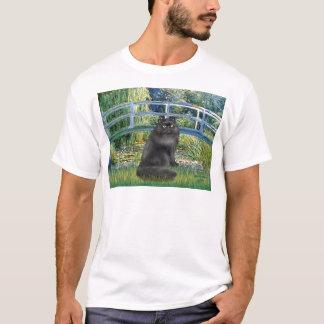 Bridge -Black Persian cat T-Shirt