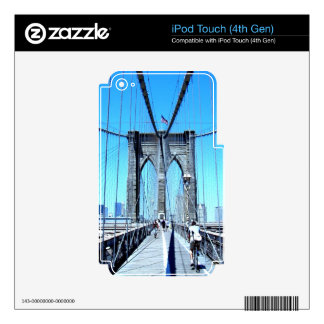 bridge brooklyn smiling dream skin for iPod touch 4G