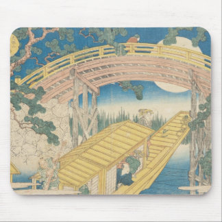 Bridge by Moonlight, from 'Views of Mount Mouse Pad