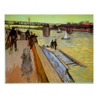 Bridge by Vincent van Gogh Poster