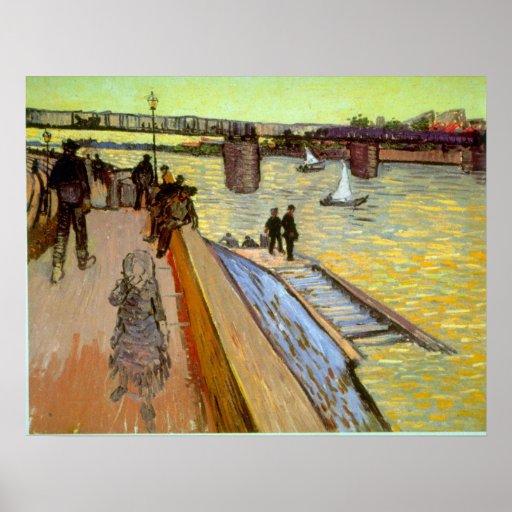 Bridge by Vincent van Gogh Poster