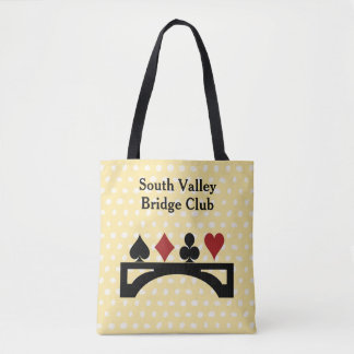Bridge Card Game Tote Bag