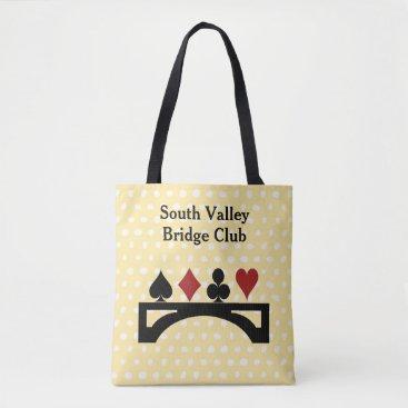DizzyDebbie Bridge Card Game Tote Bag