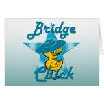 Bridge Chick #7 Card