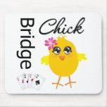 Bridge Chick Mouse Mats