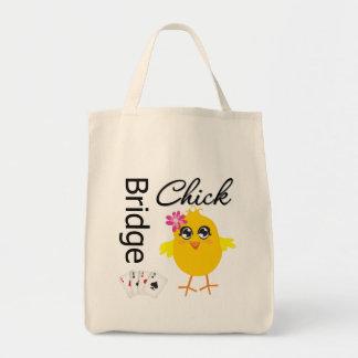 Bridge Chick Tote Bag