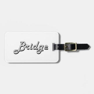 Bridge Classic Retro Design Luggage Tag