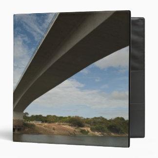 Bridge connecting Guyana to Brazil over Takutu 3 Ring Binder