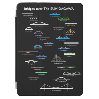 < Bridge (for hyperchromic area) of Sumida river > iPad Air Cover