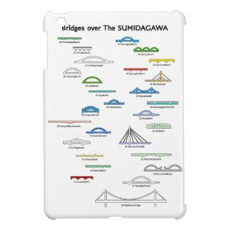 < Bridge (for light-colored area) of Sumida river  Cover For The iPad Mini