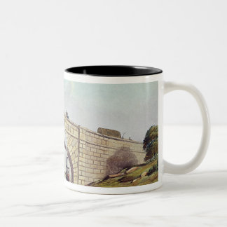 Bridge,from 'Liverpool and Manchester Railway' Two-Tone Coffee Mug