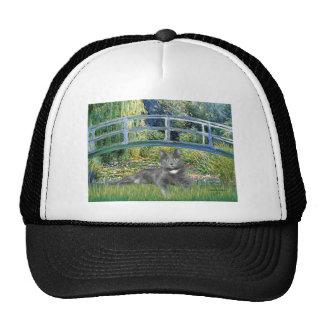 Bridge - Grey cat Trucker Hats