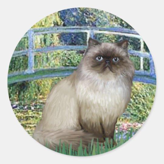 Bridge - Himalayan cat 7 Classic Round Sticker