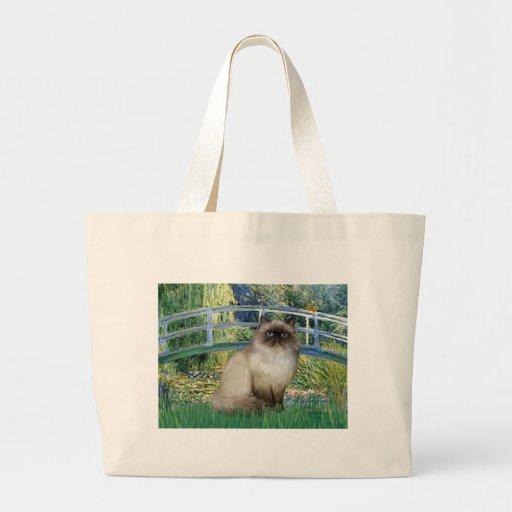 Bridge - Himalayan cat 7 Jumbo Tote Bag